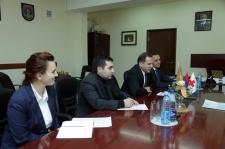 Photo of ՊՆ ներկայացուցիչը հանդիպել է Հայաստանում Կարմիր խաչի միջազգային կազմակերպության պատվիրակության ղեկավարի հետ