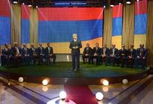 Photo of Սերժ Սարգսյանը մասնակցել է հայկական ֆուտբոլի լեգենդար թիմի՝ «Արարատ-73»-ի մեծարման երեկոյին