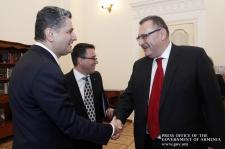 Photo of Տիգրան Սարգսյանը Միլան Ցաբրնոխի հետ քննարկել է ՀՀ-ԵՄ հարաբերություններին առնչվող հարցեր