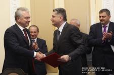 Photo of Հայաստանի Հանրապետության և Եվրասիական տնտեսական հանձնաժողովի միջև ստորագրվել է Փոխգործակցության հուշագիր