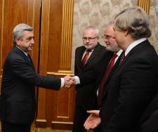 Photo of Սերժ Սարգսյանն ընդունել է ԵԱՀԿ Մինսկի խմբի համանախագահներին
