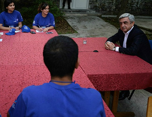 Photo of Սերժ Սարգսյանը կողմ է հակասահմանադրական օրենքին