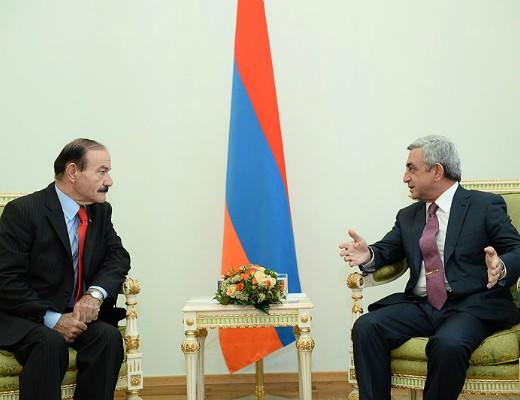 Photo of Սերժ Սարգսյանին հավատարմագրերն է հանձնել Հայաստանում Հորդանանի նորանշանակ դեսպանը