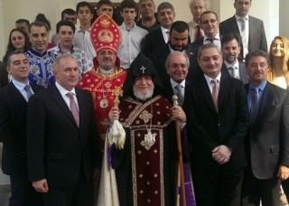 Հայկական խաչքարերի օրհնություն Սինգապուրում