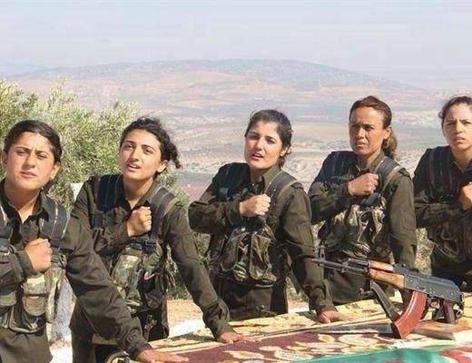 Photo of «Իսլամական պետության» մոլեռանդների համար զինված կինը «հարամ» է. քրդուհիները՝ խիզախ զինվորներ