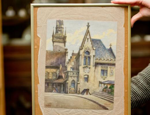 Photo of Ադոլֆ Հիտլերի ձեռքի աշխատանքը վաճառվել է 130 հազար եվրոյով