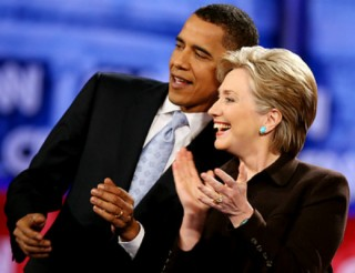 Obama and Clinton 426