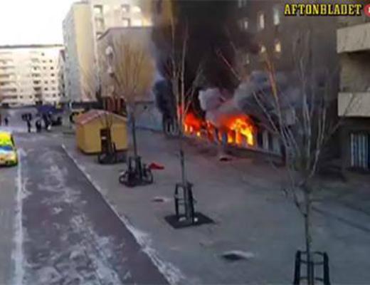 Photo of Շվեդիայում մզկիթ են հրդեհել, 5 մարդ տուժել է