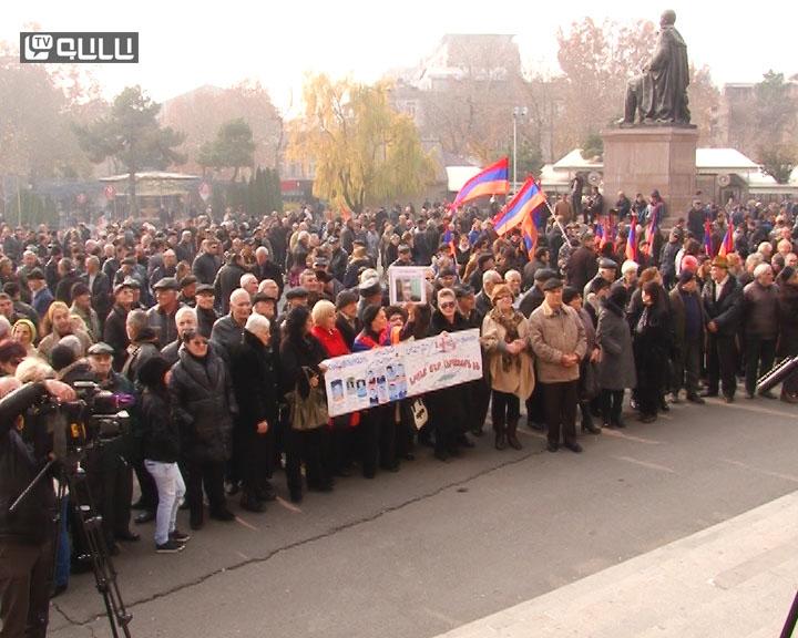 Photo of Մարդու իրավունքների պաշտպանության օրվան նվիրված հանրահավաքը եւ երթը