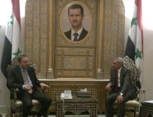 Photo of Սիրիայի Ժողովրդական ժողովի նախագահը հայտնել է, որ հայ համայնքը գտնվում է պետության ուշադրության կենտրոնում