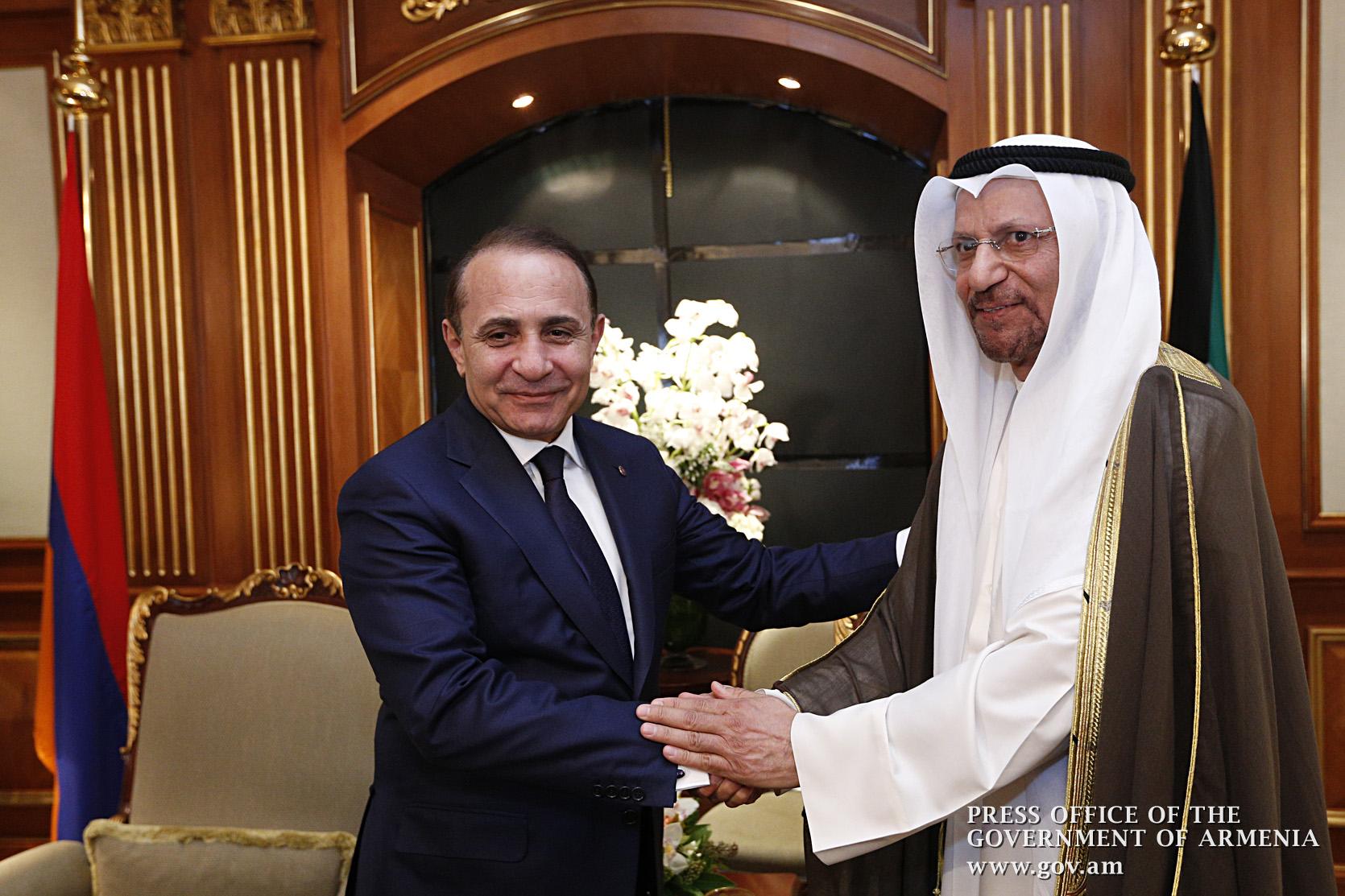 Photo of Ներդրումային նախագծերի առաջարկներ՝ Հայաստանի և Քուվեյթի միջև տնտեսական համագործակցության շրջանակում