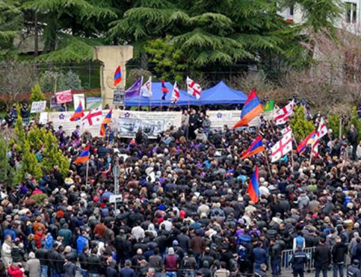 Photo of Վիրահայ համայնքը նշեց Հայոց մեծ Եղեռնի 100-րդ տարելիցը