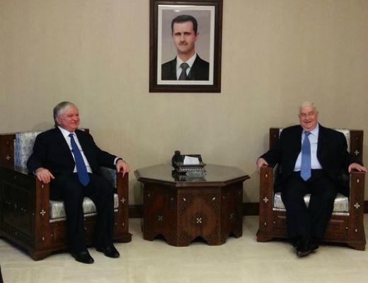 Photo of Բաշար ալ-Ասադի հետ հանդիպմամբ մեկնարկել է Էդվարդ Նալբանդյանի այցը Սիրիա