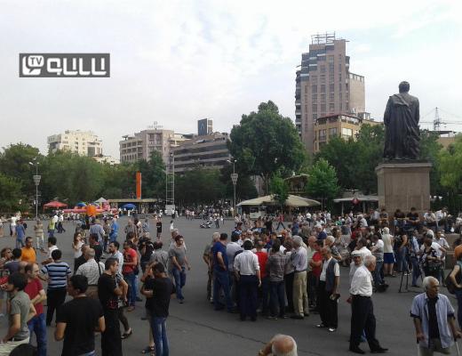 Photo of Ցուցարարներն ակնկալում են, որ պայքարը կվերսկսվի հուլիսի 9-ից հետո