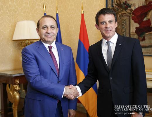 Photo of Փարիզում հանդիպել են Հայաստանի և Ֆրանսիայի վարչապետները
