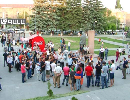 Photo of «Ոչ թալանին» քաղաքացիական նախաձեռնության անդամները Գյումրիում հանրային քննարկում անցկացրեցին