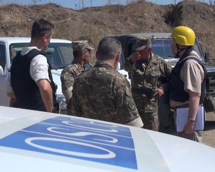 Photo of ԵԱՀԿ դիտարկումը Արցախի և Ադրբեջանի սահմանին