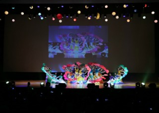 Korean traditional fan dance performance at the Proclamation Ceremony on March 14, 2016