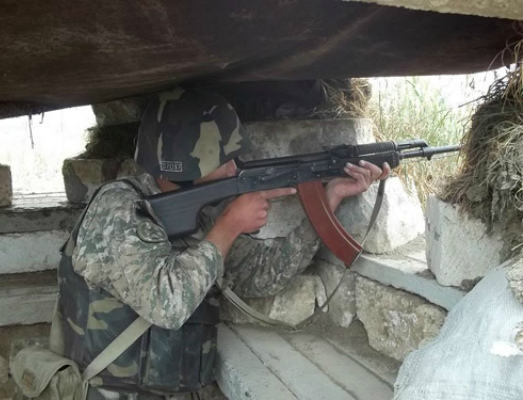 Photo of Շփման գծի արևելյան ուղղությամբ ադրբեջանական զինուժը կիրառել է նաև հաստոցավոր հակատանկային նռնականետ