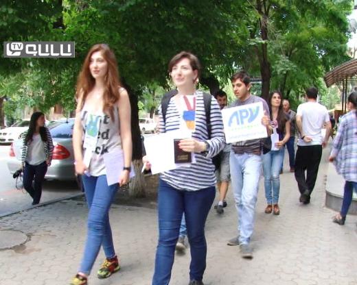 Photo of Հայաստանը խաղաղության գաղափարի կողմնակից է. Խաղաղության քայլերթ Երևանում