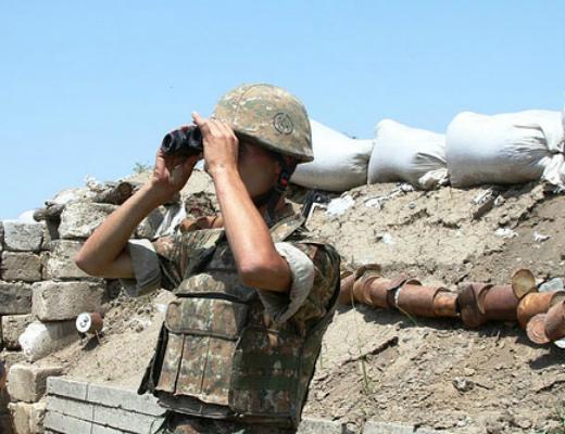 Photo of 7 дней на передовой линии, по армянским позициям было произведено более 900 выстрелов