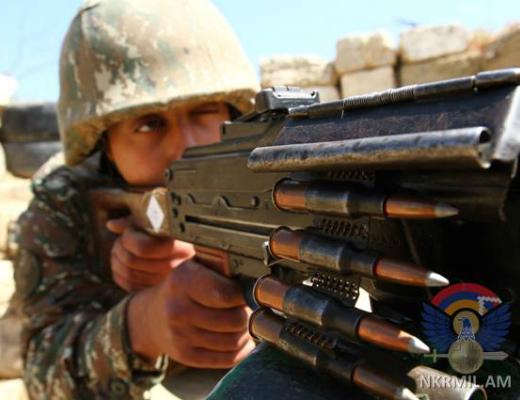 Photo of Շփման գծի հարավային ուղղությամբ ադրբեջանական զինուժը կիրառել է նաև 60 միլիմետրանոց ականանետ