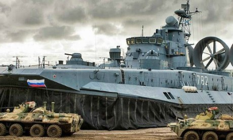 Russia-exercising-amphibious-assault