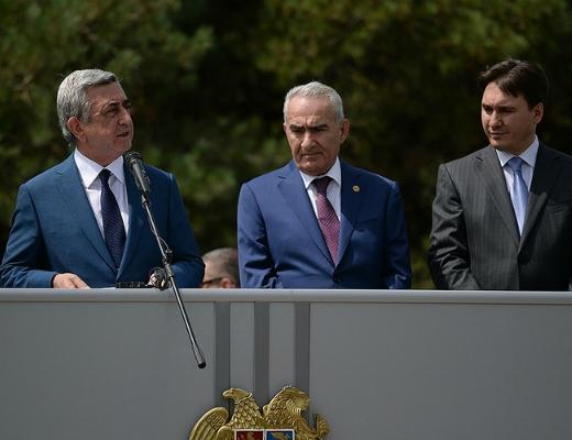 Serj-Sargsyan-Galust-Sahakyan