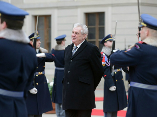 President Milos Zeman of the Czech Republic has been notably friendly toward Russia