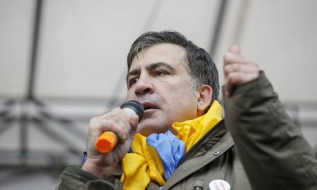 Former Georgian President Saakashvili Freed In Kiev After Arrest