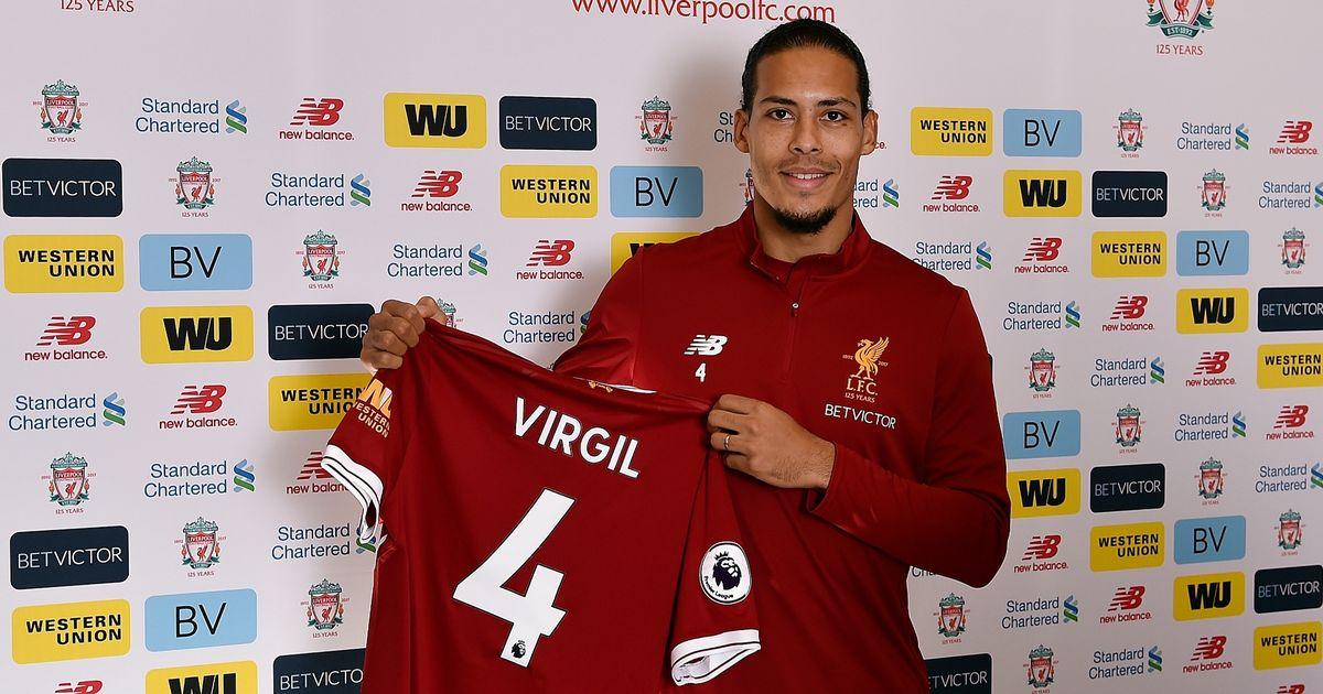 Liverpool-Unveil-New-Signing-Virgil-van-Dijk