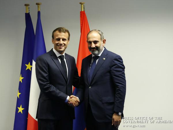 Photo of Նիկոլ Փաշինյանը և Էմանուել Մակրոնը քննարկել են հայ-ֆրանսիական հարաբերությունների հետագա զարգացմանն ուղղված հարցեր
