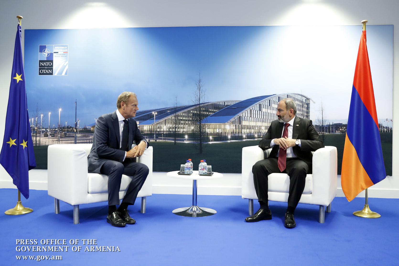 Photo of Կարող եք ակնկալել ԵՄ աջակցությունը բարեփոխումները կյանքի կոչելու ճանապարհին. Դոնալդ Տուսկը՝ Նիկոլ Փաշինյանին