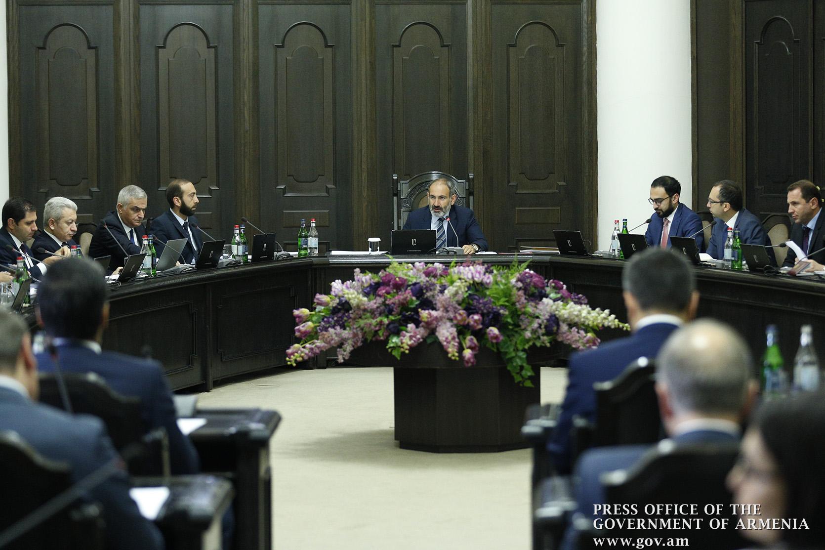 Հայաստանի ամբողջ տարածքում արտակարգ դրություն հայտարարվեց