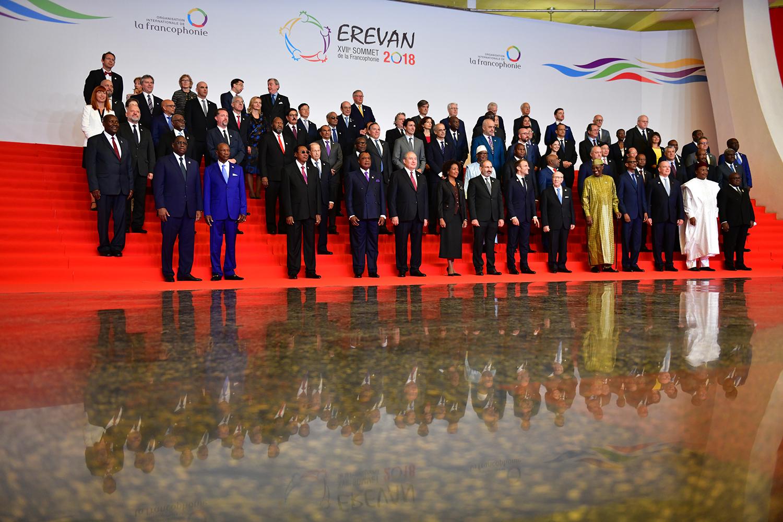 Photo of Президент присутствовал на церемонии открытия саммита Франкофонии
