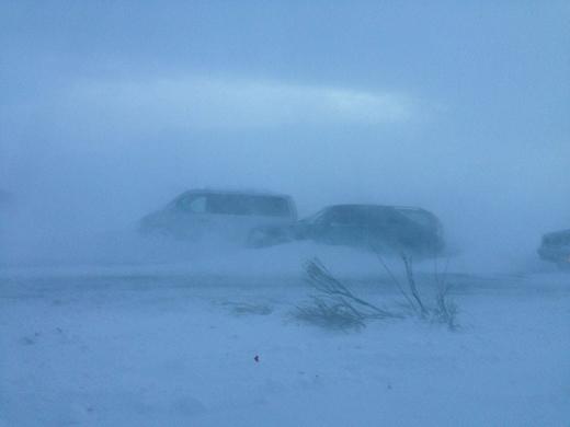 Photo of На автодороге Сисиан-Горис Сюникской области метель