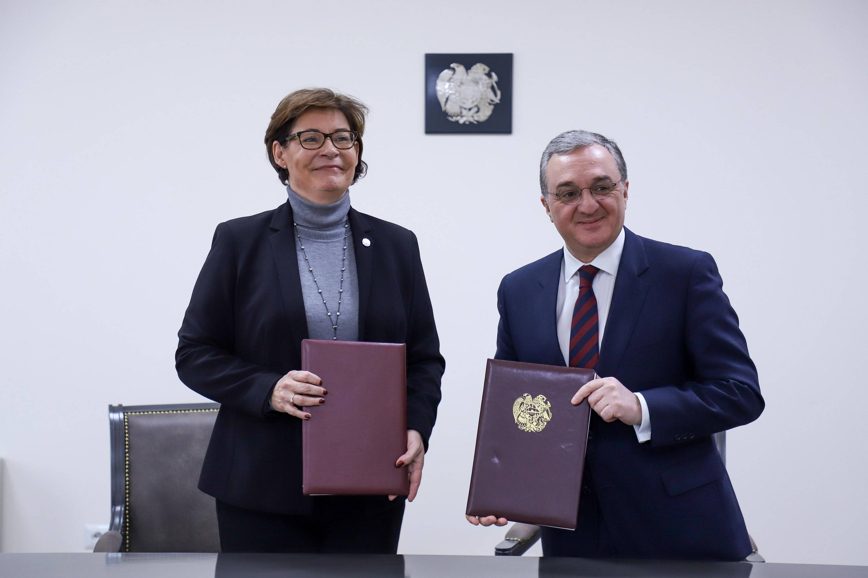 Photo of ՀՀ կառավարության և ԿԽՄԿ միջև ստորագրվեց ՀՀ-ում ԿԽՄԿ կարգավիճակի մասին համաձայնագրում փոփոխություններ կատարելու մասին արձանագրություն