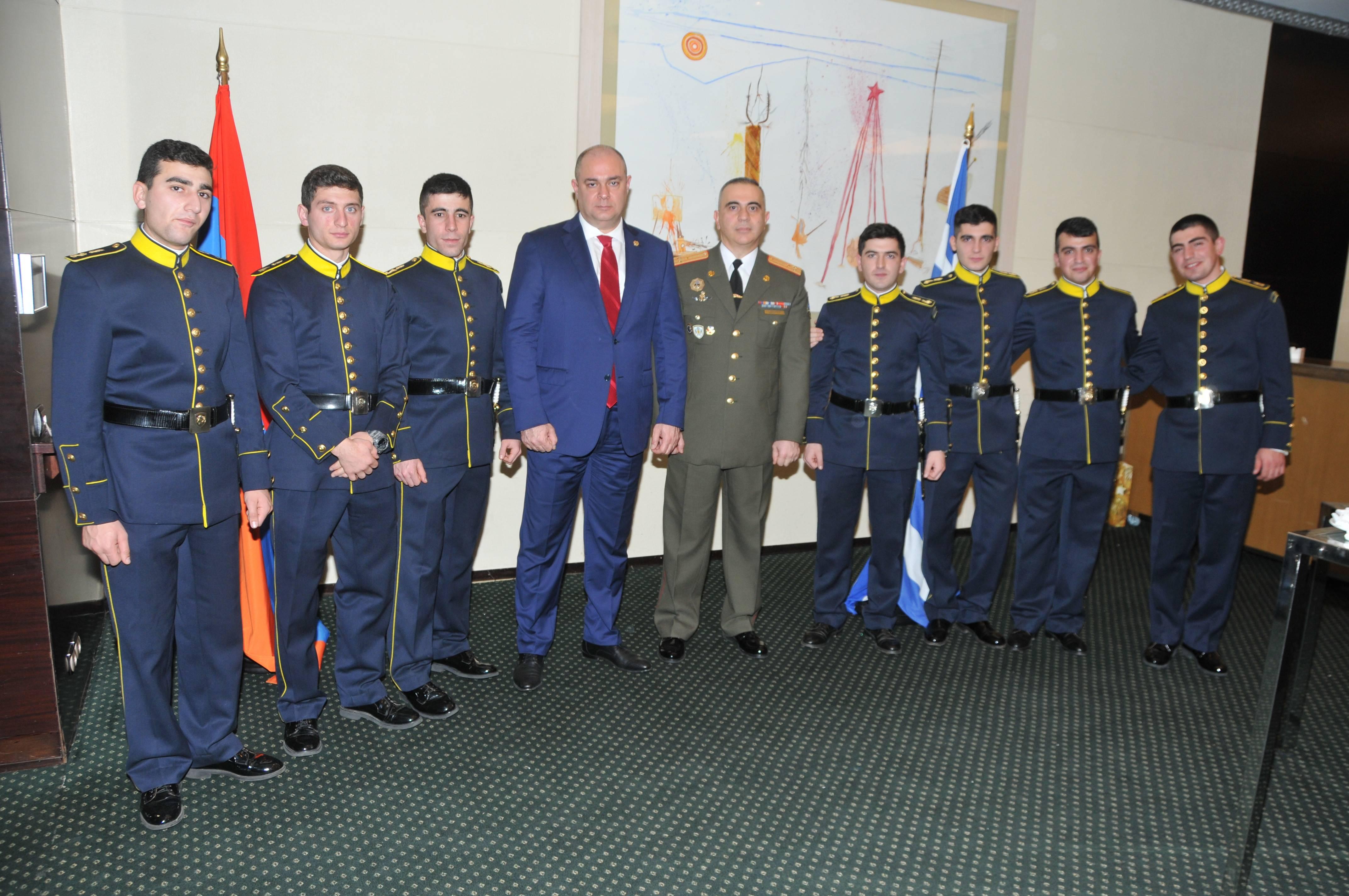 Photo of ՀՀ Զինված ուժերի կազմավորման 27-ամյակին նվիրված միջոցառում Աթենքում
