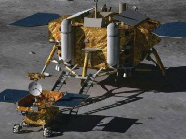 Photo of Китайский аппарат «Чанъэ-4» успешно сел на обратной стороне Луны