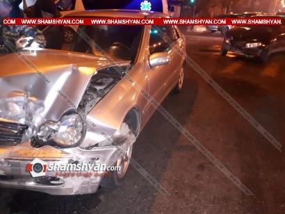 Photo of Ավտովթար Երևանում. բախվել են Mercedes-ն ու Opel-ը. կան վիրավորներ