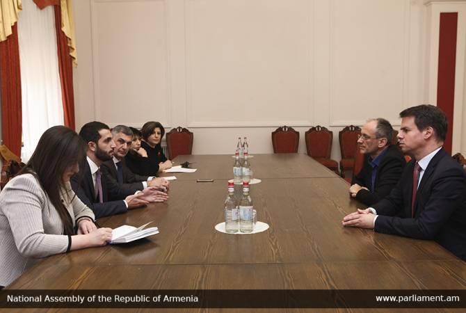 Photo of «Ղարաբաղյան հակամարտության խաղաղ կարգավորումը Հայաստանի գլխավոր առաջնահերթությունն է». Ռուբեն Ռուբինյան