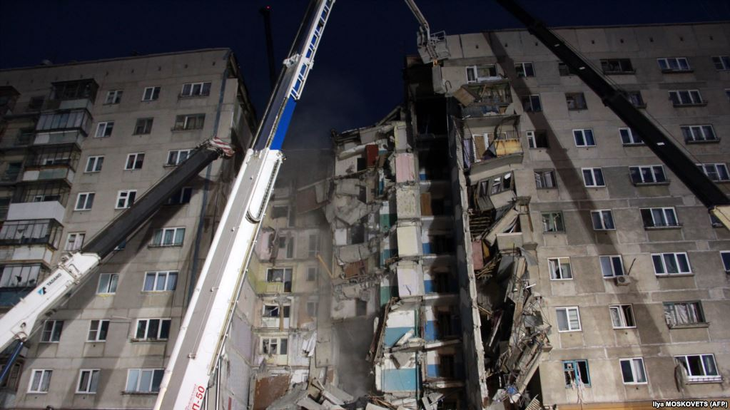Photo of СК: следов взрывчатки на месте обрушения части дома в Магнитогорске не обнаружено