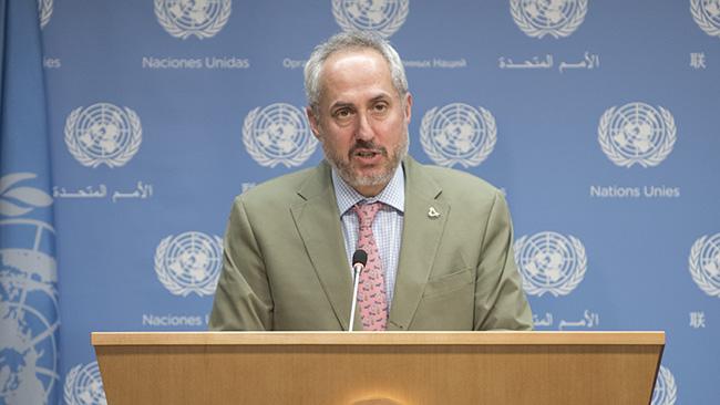 UN Spokes on US Iran Announcement
