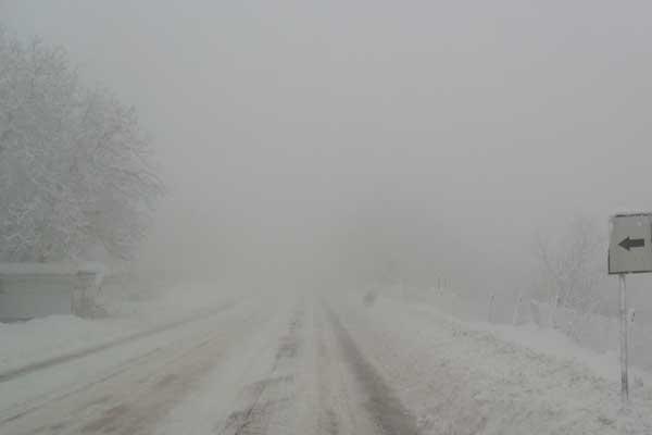Photo of Սոթք-Քարվաճառ ավտոճանապարհը դժվարանցանելի է. Ապարանի տարածաշրջանում տեղում է ձյուն