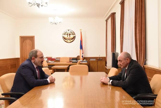 Photo of Բակո Սահակյանը և Նիկոլ Փաշինյանը կարևորել են Հայաստան-Արցախ սերտ փոխգործակցության ընդլայնումը