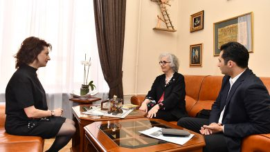 Photo of Աննա Հակոբյանն ու Քերոլայն Նաջարյանը քննարկել են ապագա համագործակցության ուղիները