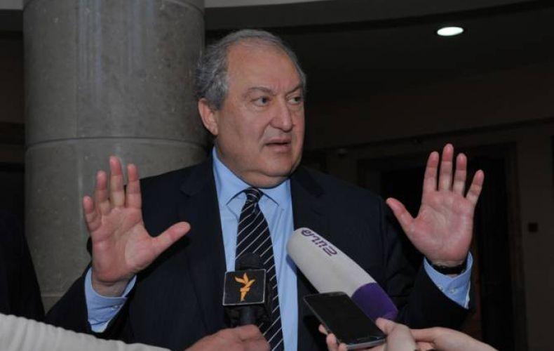 Photo of ՀՀ նախագահը ԼՂ հակամարտության խաղաղ կարգավորման հարցում լիովին աջակցում է վարչապետի ու արտգործնախարարի վարած քաղաքականությանը