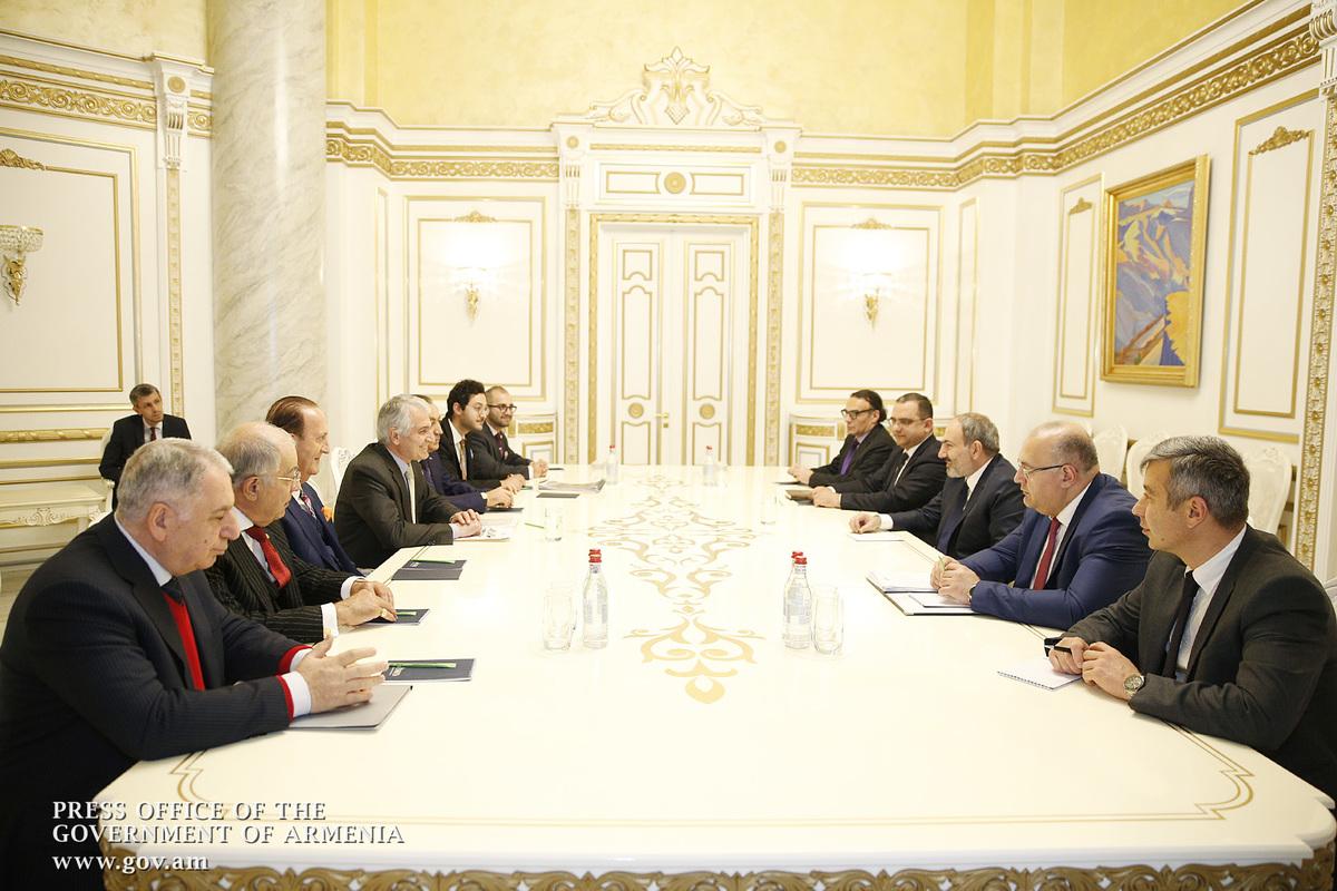 Photo of Սփյուռքահայ մի խումբ գործարարներ վարչապետին են ներկայացրել տարբեր ներդրումային ծրագրեր