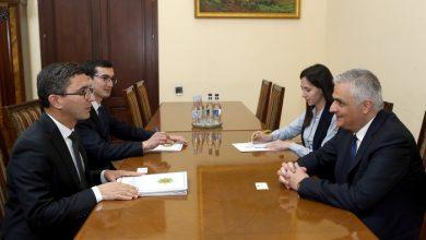 Photo of Փոխվարչապետ Մհեր Գրիգորյանն ընդունել է Թուրքմենստանի դեսպանին