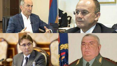 Photo of Уголовнoe делo в отношении Кочаряна, Оганяна, Хачатурова и Геворкяна завершено, дело направлено в прокуратуру